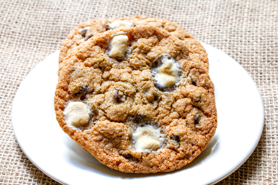 Marc Murphy's S'mores Cookies are the real deal of cookies. Baked to perfection they are hard to resist. Great fundraiser for OXO!