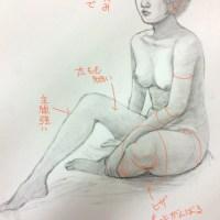 添削061.裸婦デッサン