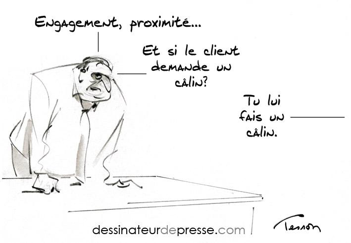 Client Humour Dessinateur De Presse Et Illustrateur