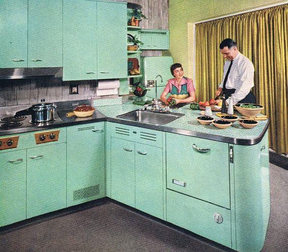 histoire de la cuisine des années 50
