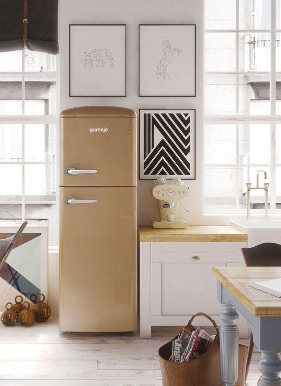 quel frigo pour ma cuisine réfrigérateur rétro gorenje