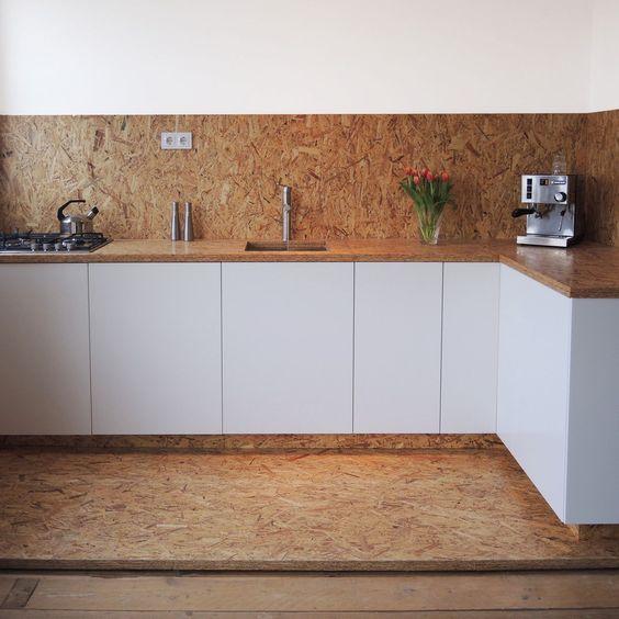 quel matériaux choisir les façades de sa cuisine l'OSB