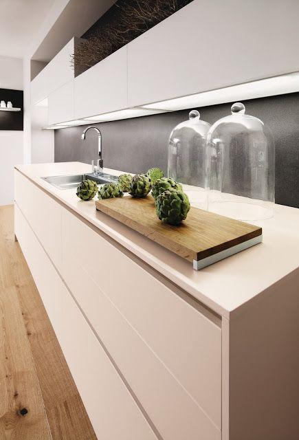 habiller sa cuisine de lumière fond lumineux pour meubles hauts