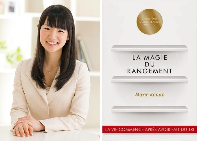 la magie du rangement KonMari Marie Kondo