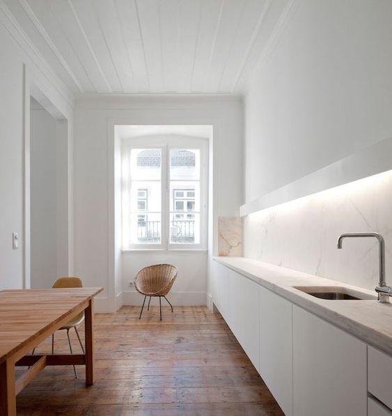 opter pour une cuisine blanche symbole de modernité