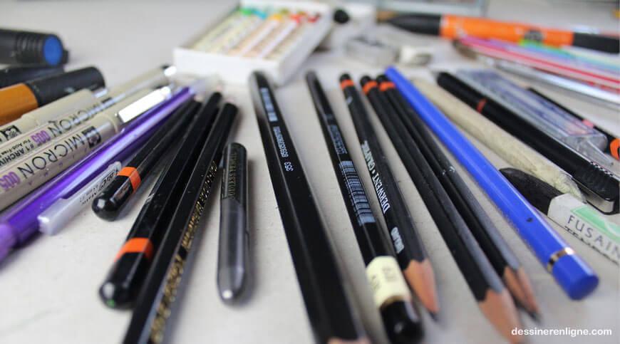les outils de base pour commencer dessiner blog