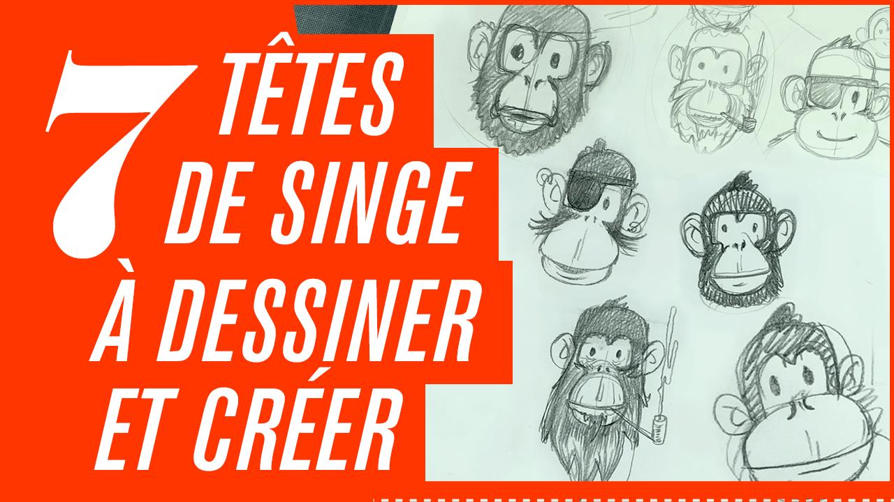 dessiner-singe
