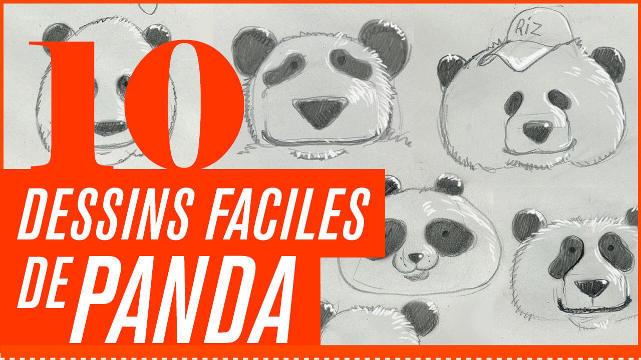10 Dessins Faciles De Panda Blog
