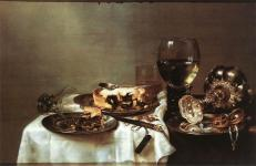 Heda_Willem_Claesz-Breakfast_Table_with_Blackberry_Pie