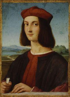 Portrait d'Ippolito d'Este de Raphael - 1504