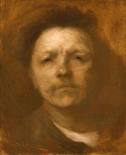 Eugène Carrière Autoportrait 1889