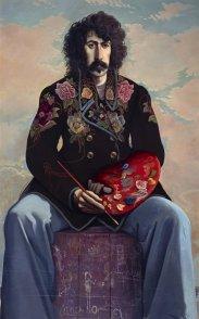 ohn Byrne, John Patrick Byrne (Autoportrait avec une veste à fleurs), 1971–1973