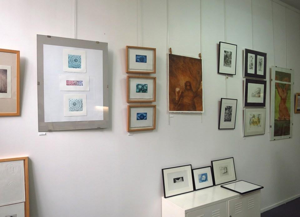 exposition de gravures
