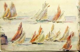 regates de Louis-Marie Faudacq