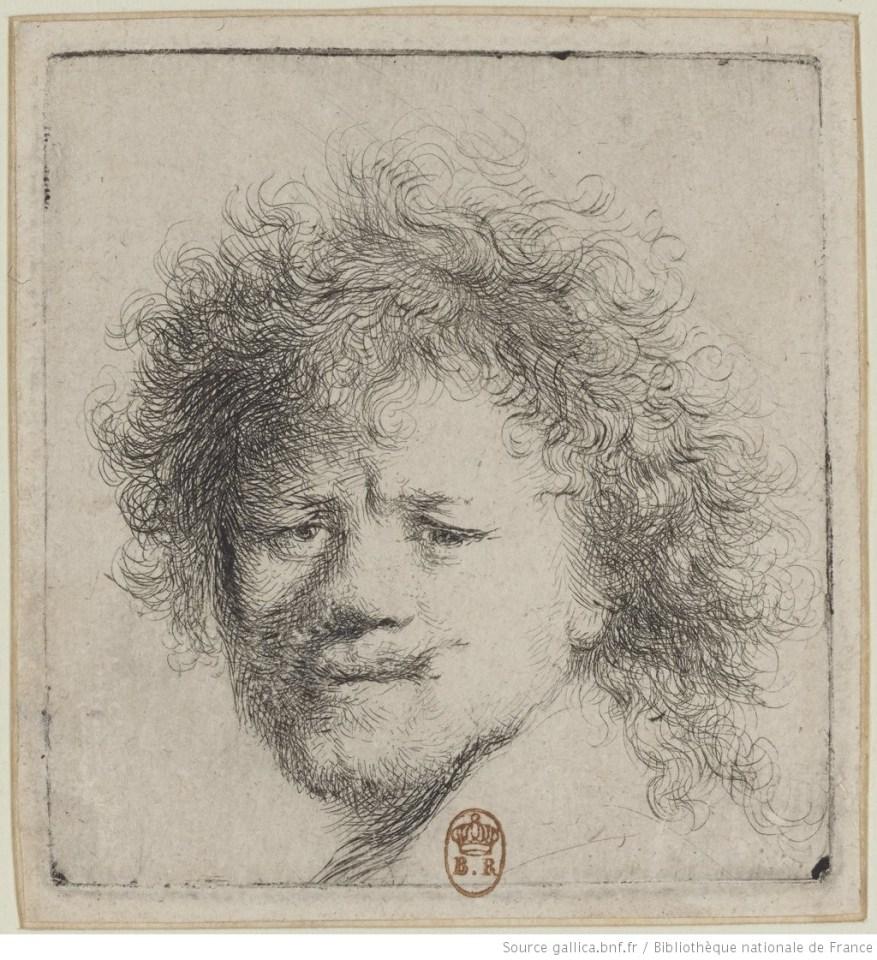 estampe de Rembrandt