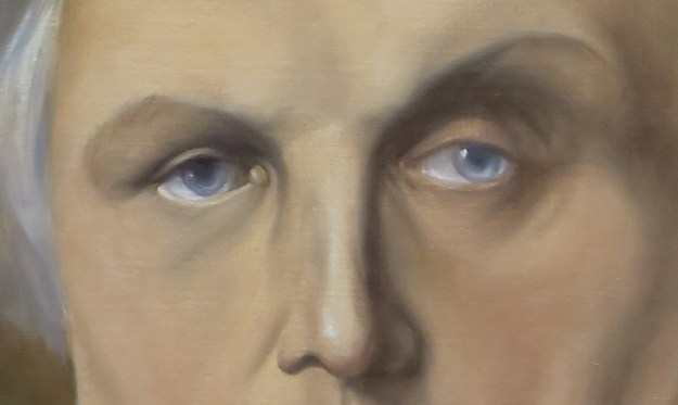 Copie, Ingres, Bertin, yeux
