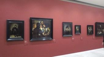 vue de l'exposition Leiden au Louvre