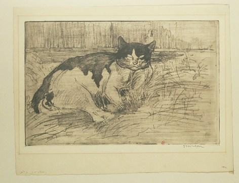 steinlen-vieux chat