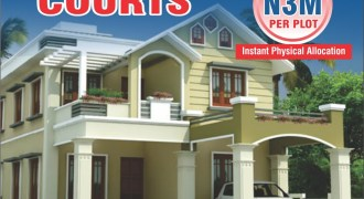 Cheap land for sale in Bricks Courts Estate