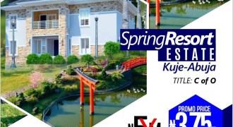 land for Sale in Spring Resorts Estate, Abuja
