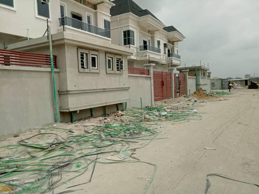 4 Bedroom Semi Detached Duplex with BQ For Sale in Eli Court Lekki