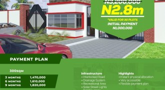 The Claridge Estate Phase 2, Ibeju Lekki  Investment Deal