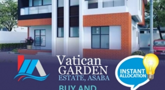 Land For Sale in Vatican Garden Estate Asaba