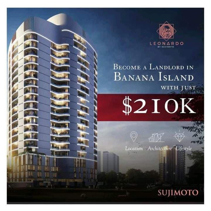4 Bedroom Luxury Apartment For Sale at the Leonardo, Banana Island, Lagos