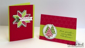 Christmas Quilt Stamp Set and Quilt Builder Framelits by Stampin' Up!