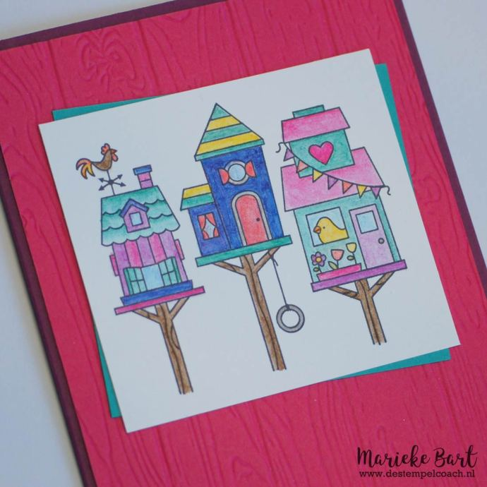 Bird Feeders from Flying Home Stamp Set by Stampin' Up!