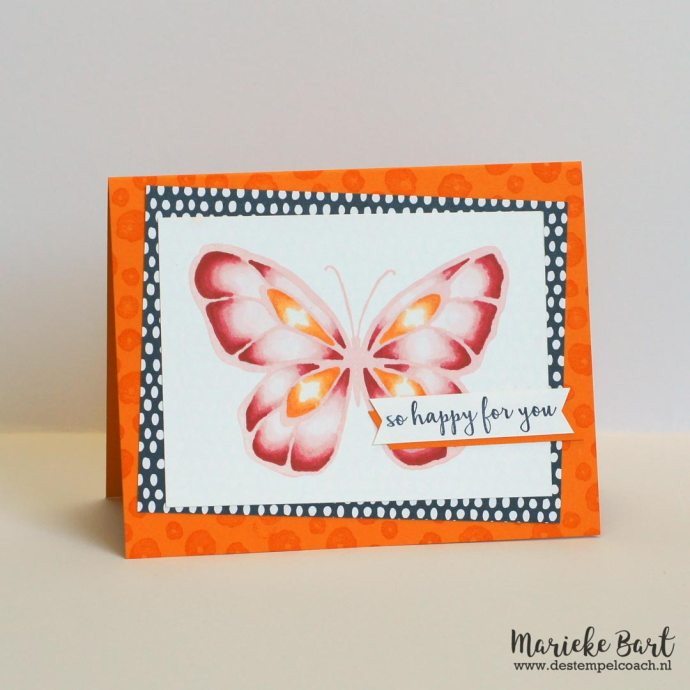 Butterfly from Beautiful Day Stamp Set by Stampin' Up!