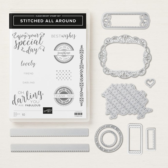 Stitched All Around bundle by Stampin' Up!