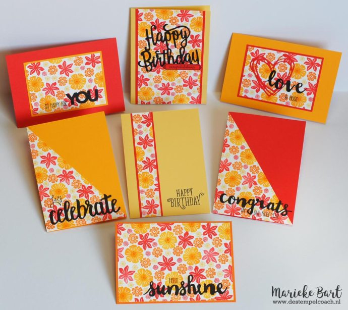 One Sheet Wonder with Beautiful Bouquet Stamp Set by Stampin' Up!