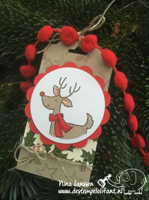 label kerst