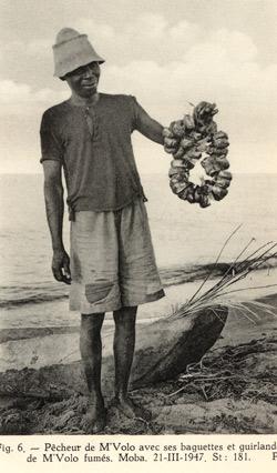 Pêcheur de sardines du lac Tanganyika.