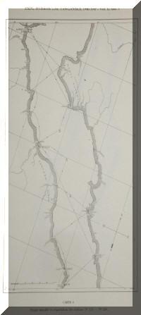 Carte des stations de récoltes de l'expédition de Max Poll au lac Tanganyika.