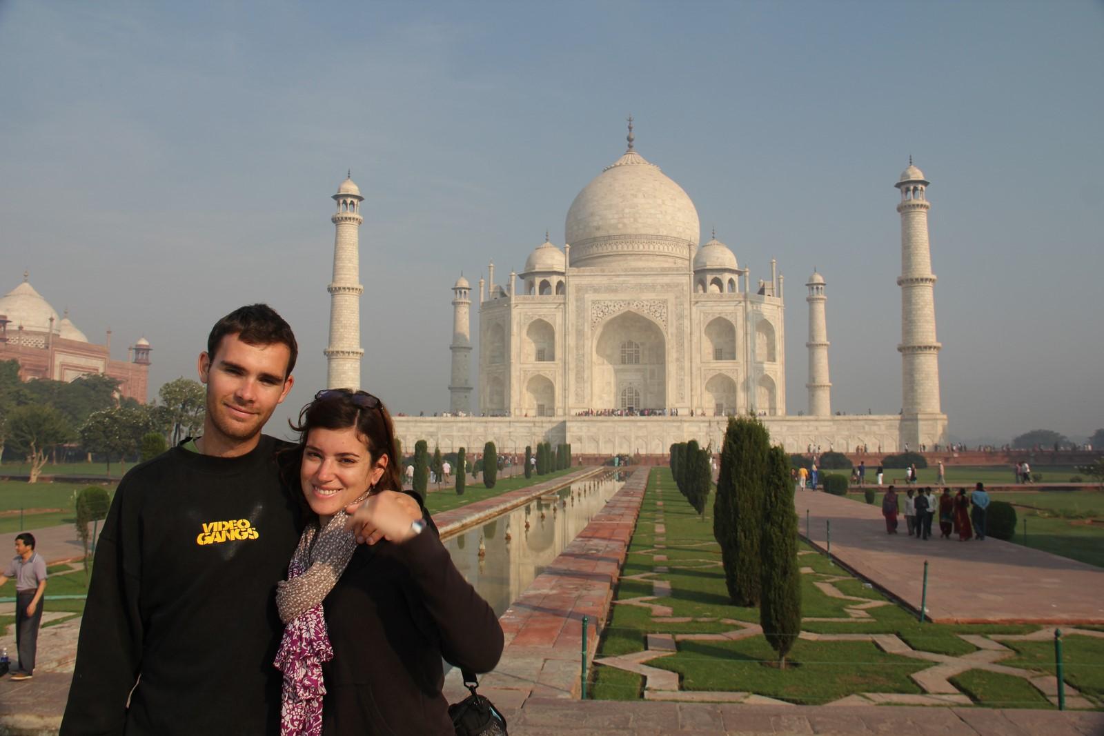 Jours 71 & 72 : Agra et la splendeur immaculée du Taj Mahal…