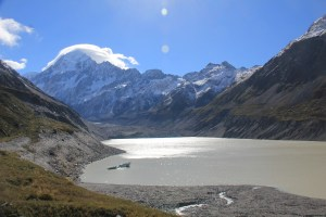 Jour 205 : Le mont Cook, point culminant de la Nouvelle-Zélande !