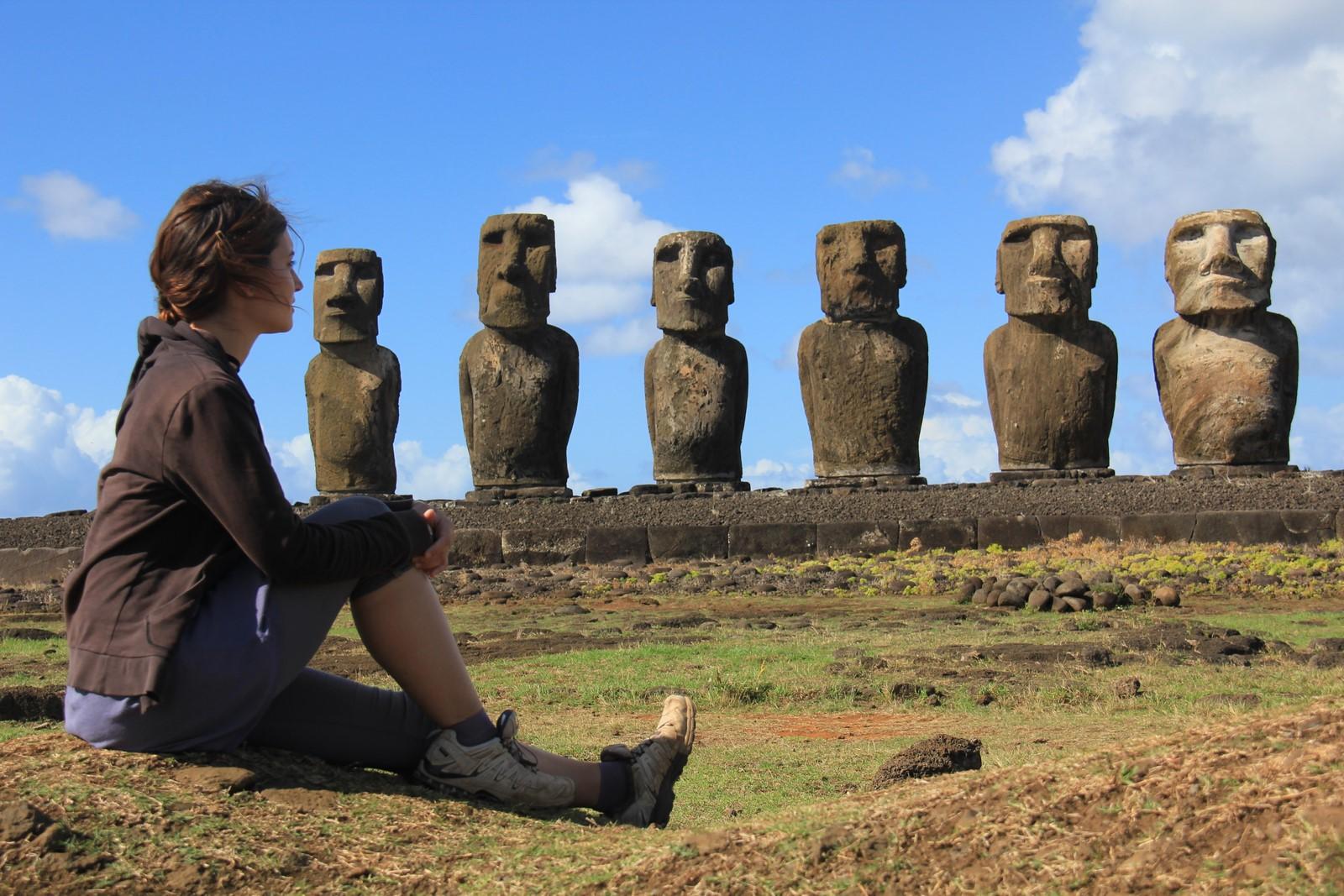 Jours 264 à 266 : L'Île de Pâques (1/2), un confetti de terre dans l'océan Pacifique…