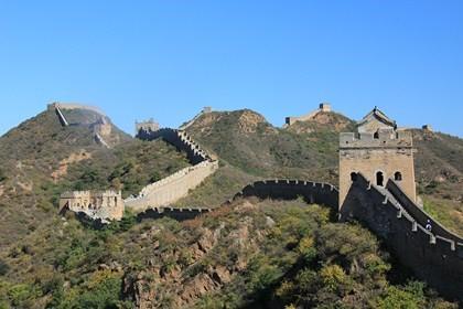 Jour 30 : On a marché sur la grande muraille ! Trek de Jinshanling à Simataï