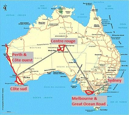 Parcours Australie