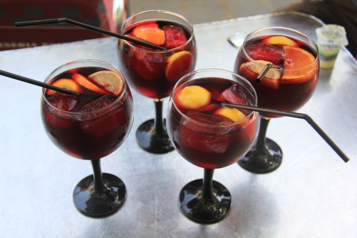 Time for Sangria !