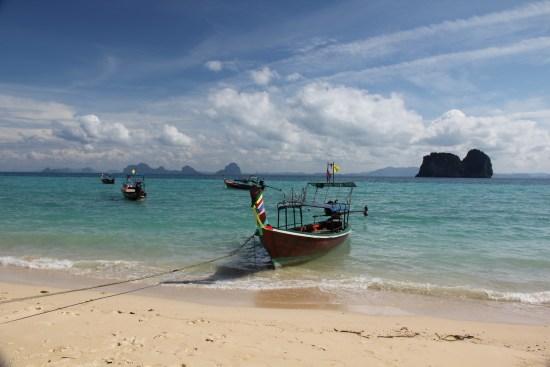 Sur l'île de Kho Ngaï en Thaïlande (déc 2011)