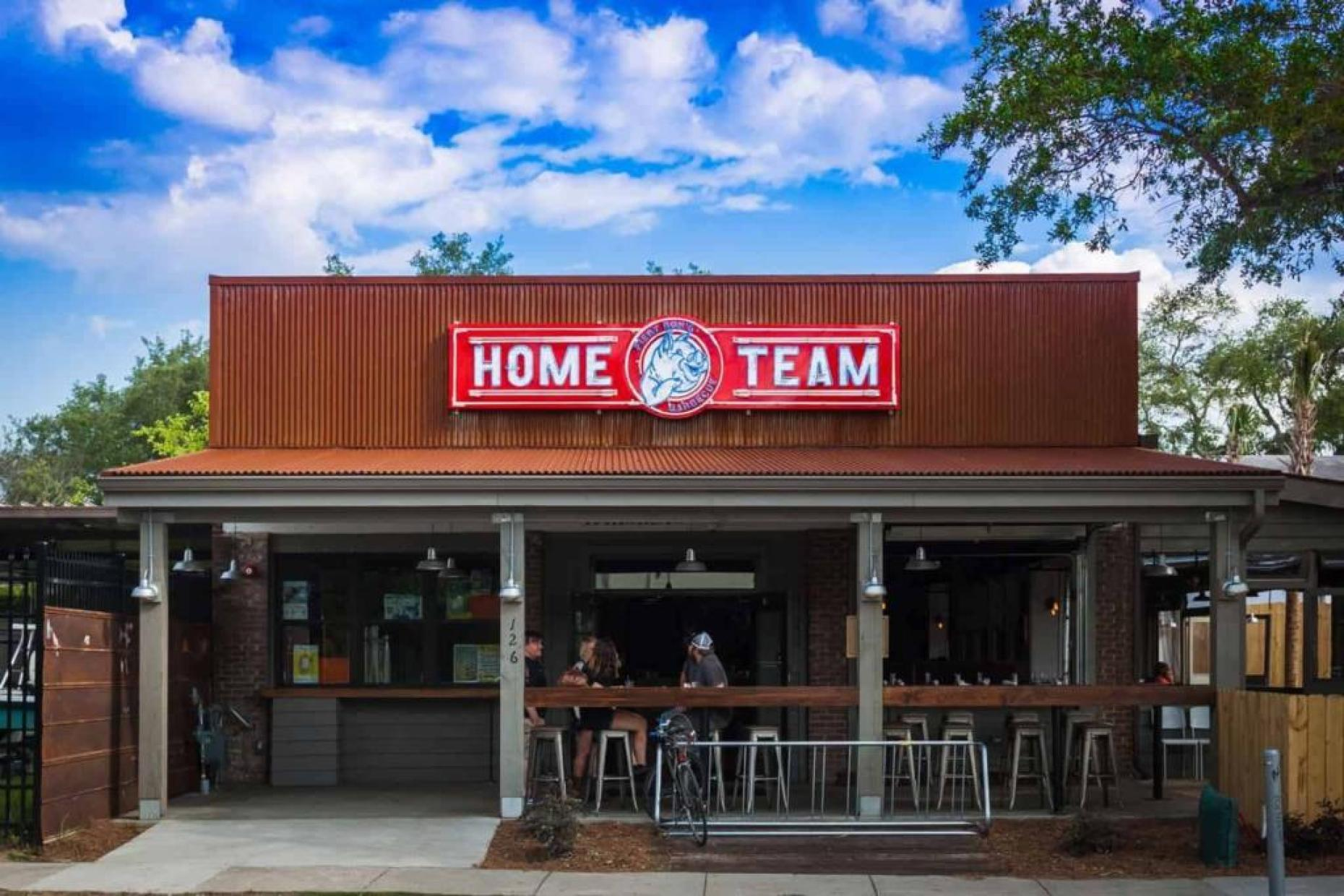 Home Team's latest location in Downtown Charleston