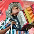 Concours d'accordéonistes au Festival de Vallenata