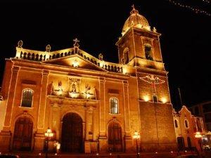 Tunja Eglise Plaza Bolivar