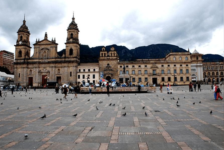 Colombia Bogota Plaza Bolivar