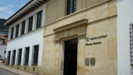 Façade du musée Botero