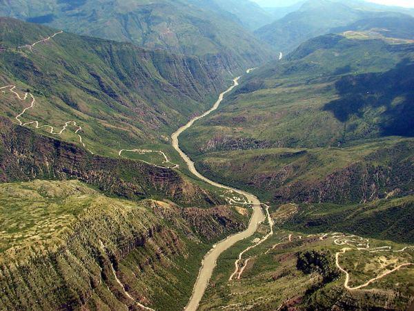Le Canyon de Chicamocha