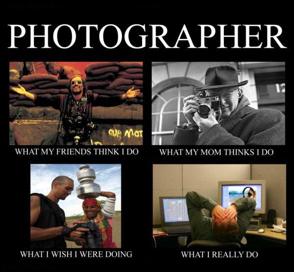 photographe pro métier blague